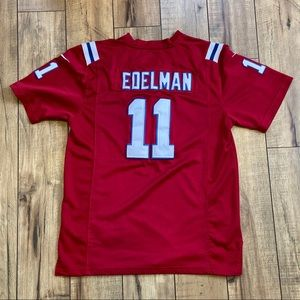 Nike on field NFL Edelman youth XL Sewn Jersey
